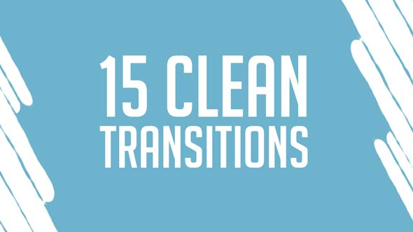 15 Clean MOGRT Transitions