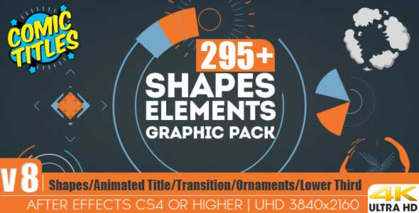 Shapes Elements Graphic Pack