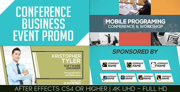Conference Business Event Promo